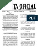 GACETA OFICIAL EXTRAORDINARIA 6452