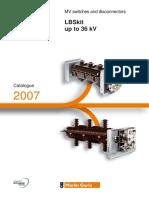Katalog LBSkit & Disconnector schneider