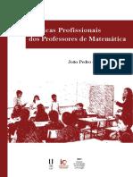 Prática profissionais dos professores de matemática