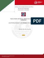 Las patologías y remedios del contrato - Romulo Morales Hervias