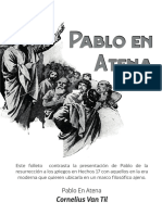 Pablo en Atenas - Cornelius Van Til