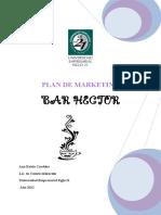 Plan de Marketing Bar Hector