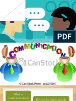 The Elements & Process of Communication