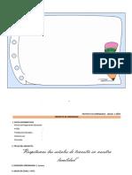 Proyecto de Aprend., Sesiones 3- 5 Años