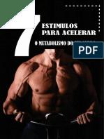 7 Estímulos Para Aumentar o Metabolismo do seu corpo
