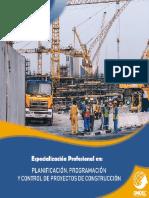 1.Planificación, Programación y Control de Proyectos de Construcción - OMDEC Perú