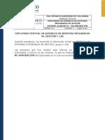 Informe Académico - No Aprobación Ps