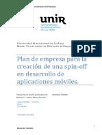 Plan de empresa para la creacion de una spin-off en desarrollo de aplicaciones moviles