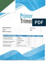 Examen Edit Mateo Sexto Grado Primer Trimestre.pdf · Versión 1