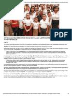ENTREGA LAURA FERNÁNDEZ BECAS ESCOLARES A ESTUDIANTES DE NIVEL BÁSICO DE PUERTO MORELOS _ Comunicación Social de Puerto Morelos