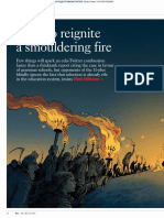 Article - How to Reignite a Smouldering Fire