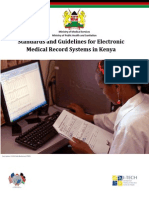 Standards and Guidelines for Electronic Medical Record Systems in Kenya