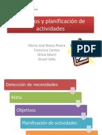 5. Objetivos y planificación de actividades 2.pptx