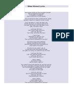 Idina Menzel Lyrics Let It Go
