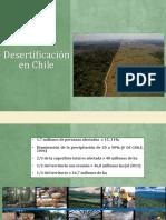 Desertificacion de Suelos en Chile