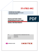Equalization Tank-Homogenization Tank