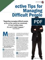 Ten Effective Way of Managing People