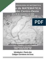 Breve introdução à Teoria dos Códigos Corretores de Erros.pdf