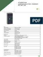 Altivar Process ATV600_ATV630C31N4
