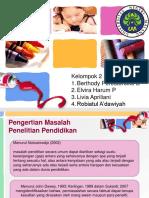 PPT Klp Masalah Pendfix