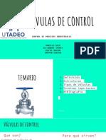 PRESENTACION VALVULAS DE CONTROL.pptx