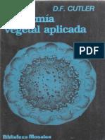 Anatomia Vegetal Aplicada D Cutler Libreria Agropecuaria 1987_text