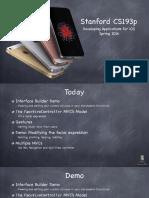 iOS-Tutorial-Lecture 5 Slides