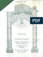 128. 1906-11 November Electrical Worker