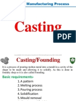 ME1107 Casting All