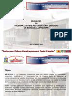 Presentación Ordenanza de Espectáculos Públicos