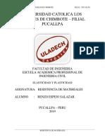 ELASTICIDAD DE MATERIALES