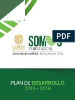 PDM Giron Somos Tejido Social 2016-2019