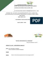 Informe Aspi Visita Agosto - 2017