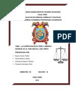 Corrupcion en El Perú