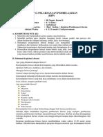 Rencana Pelaksanaan Pembelajaran Kls 6