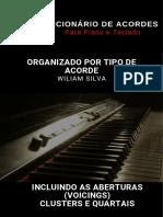 Dicionário de Acordes para Piano e Teclado - Wiliam Silva