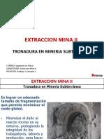 Tronadura en Mineria Subterranea