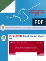 Paparan Perbedaan LAPOR Versi Lama Dan Versi 3.0