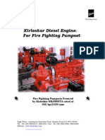 Koel Fire Pump Engine Heat Exchanger