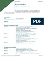 Currículo do Sistema de Currículos Lattes (Robson Rodrigues Barbosa)
