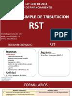 8 Regimen Simple