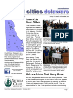 October 2010 Cool Cities Deleware Newsletter