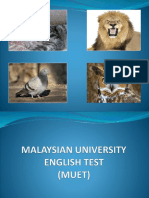 Malaysian University English Test