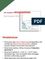 6 Integer Programing