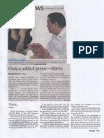 Manila Standard, July 11, 2019, Gloria a political genius - Martin.pdf