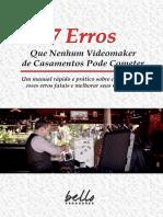 7 erros que nenhum videomaker pode cometer