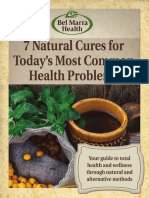 7 Natural Cures for Today Most Common Health Problems