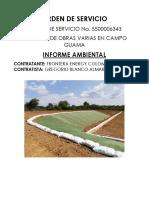 2.- Informe Ambiental Orden de Servicio No.5500006343