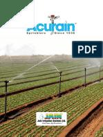 Acurain Catalogue