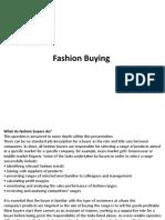 Fashion Buying.....